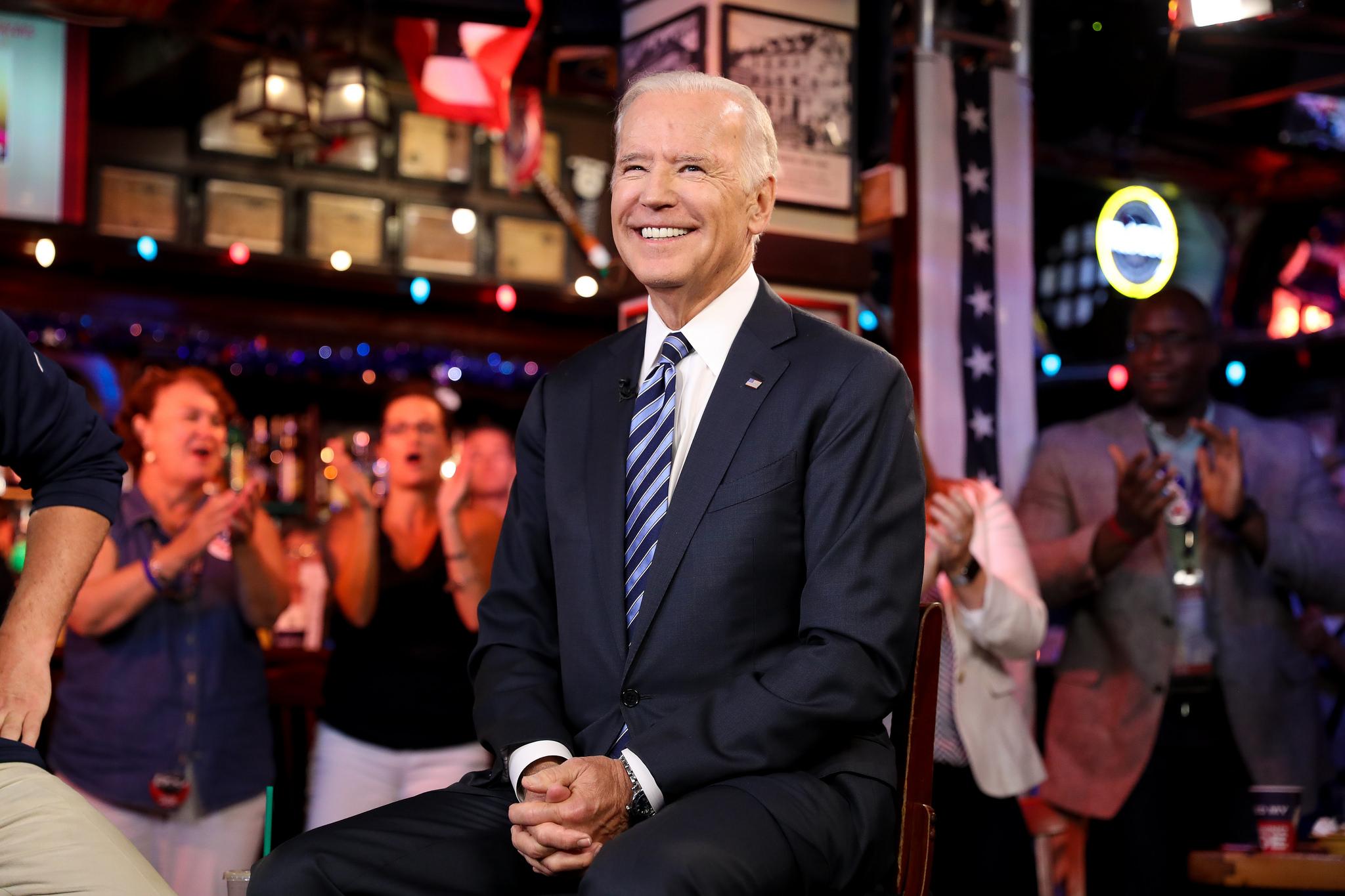 Vice President Joe Biden visits McGillin's